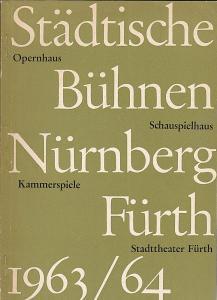 Städtische Büchnen Nürnberg-Fürth (Hrsg.) Einladung zur Platzmiete für die Spielzeit 1963/1964