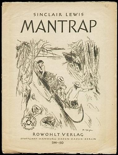 Lewis, Sinclair: Mantrap. Übersetzt von Franz Fein.