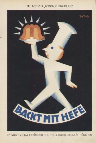 Zietara, Valentin (München): Backt mit Hefe.