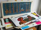 Sammlung von über 330 Schutzumschlägen bedeutender Gebrauchsgrafiker und Illustratoren des deutschsprachigen Raums.