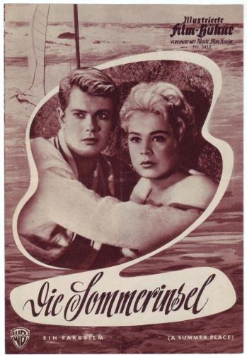 Illustrierte Film-Bühne Nr. 5413: Die Sommerinsel. Nach Sloan Wilson. Regie Delmer Daves.