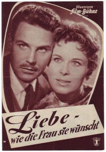 Illustrierte Film-Bühne Nr. 3725: Liebe - wie die Frau sie wünscht. Mit Barbara Rütting, Paul Dahlke. Regie Wolfgang Becker.