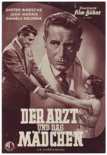 Illustrierte Film-Bühne Nr. 2252: Der Arzt und das Mädchen. Mit Dieter Borsche, Jean Marais, Danièle Delorme.
