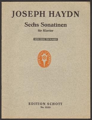 Haydn, Joseph: Sechs Sonatinen für Klavier. Hg. Waldemar Woehl.