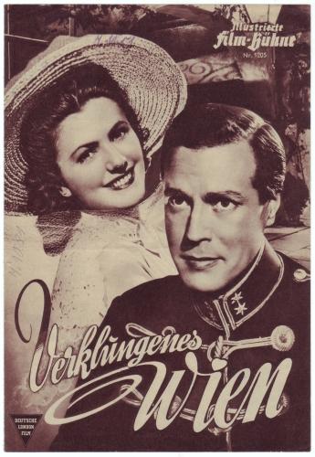 Illustrierte Film-Bühne Nr. 1205: Verklungenes Wien. Mit Paul Hörbiger, Marianne Schönauer. Regie Ernst Marischka.