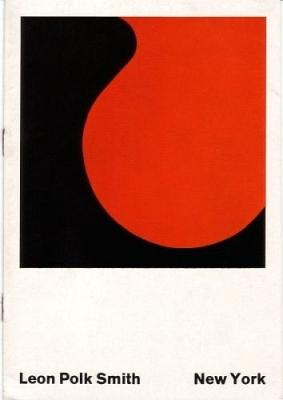 Leon Polk Smith (1906-1996) Leon Polk Smith. New York. Einladungskarte zur ersten Einzelausstellung in Europa.