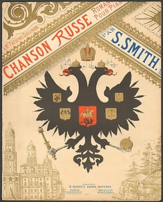 Smith, Sydney: Chanson Russe. Romance pour piano par S. Smith, op. 31.