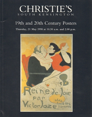 Christie's South Kensington. 19th and 20th Century Posters. Auction catalogue, 21 May 1998.