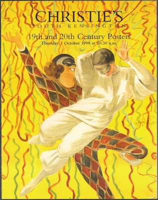 Christie's South Kensington. 19th and 20th Century Posters. Auction catalogue, 1 October 1998.