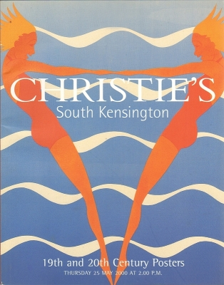 Christie's South Kensington. 19th and 20th Century Posters. Auction catalogue, 25 May 2000.