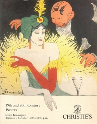 Christie's South Kensington. 19th and 20th Century Posters. Auction catalogue, 9 October 1990.