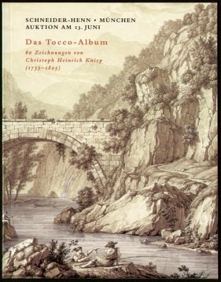 Dietrich Schneider-Henn: Das Tocco-Album. 60 Blatt Zeichnungen von Christoph Heinrich Kniep (1755-1825). Auktion am 13. Juni 1997.