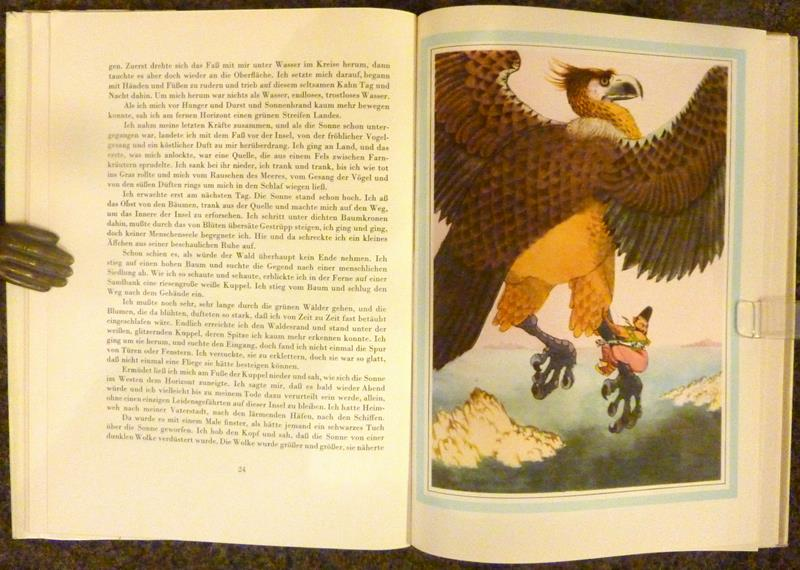 Märchen aus Tausendundeiner Nacht. F. Hrubín erzählt. Illustriert von Jiri Trnka. (Aus dem Tschechischen übersetzt von Erich Bertleff).