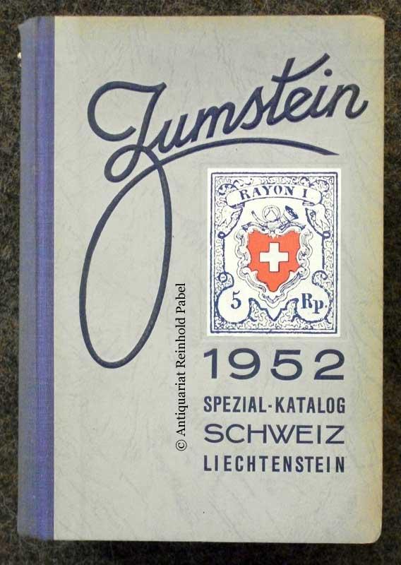 Spezialkatalog über die Briefmarken der Schweiz und von Liechtenstein. (Im Anhang: Campione d'Italia). 13. Aufl. (Mit einem Vorwort von A. Hertsch).
