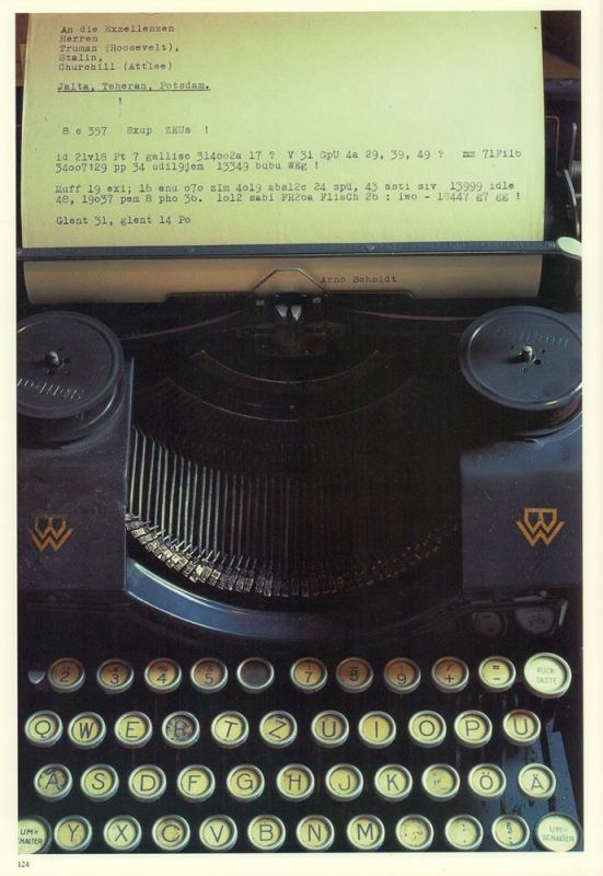 Arno Schmidt. Bargfeld. Mit Texten von Arno Schmidt, Jan Philipp Reemtsma, Michael Ruetz u.a.