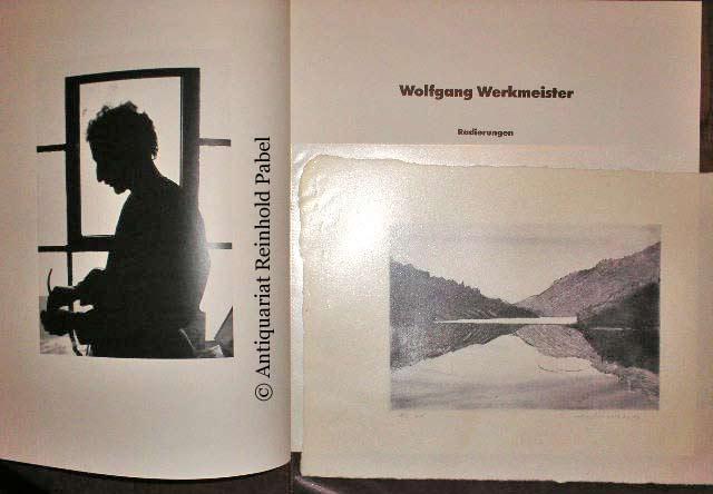 Wolfgang Werkmeister - Radierungen. (Mit einem Vorwort von Heinz Spielmann u. einem Essay von Friedhelm Röttger).