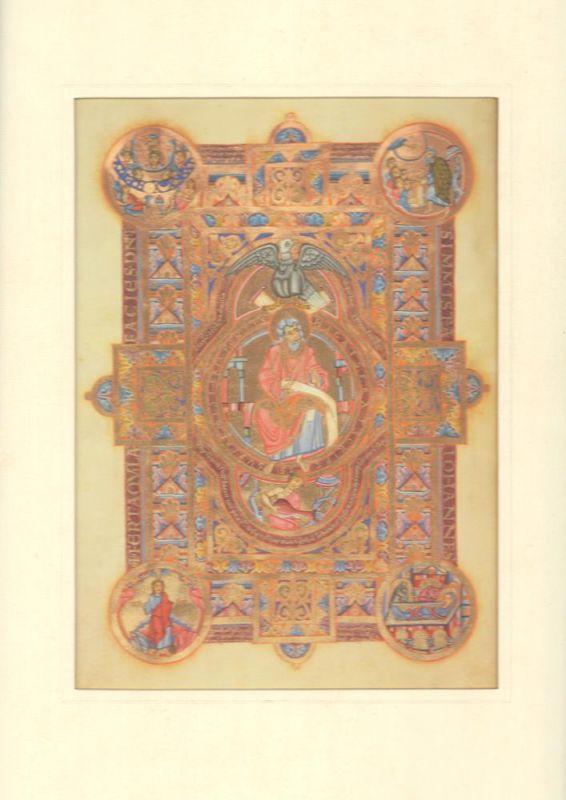 Uta Codex. Evangelist Johannes. Regensburg, St. Emmeram, um 1020 (?). Bayerische Staatsbibliothek München, Clm 13601, fol. 89v.