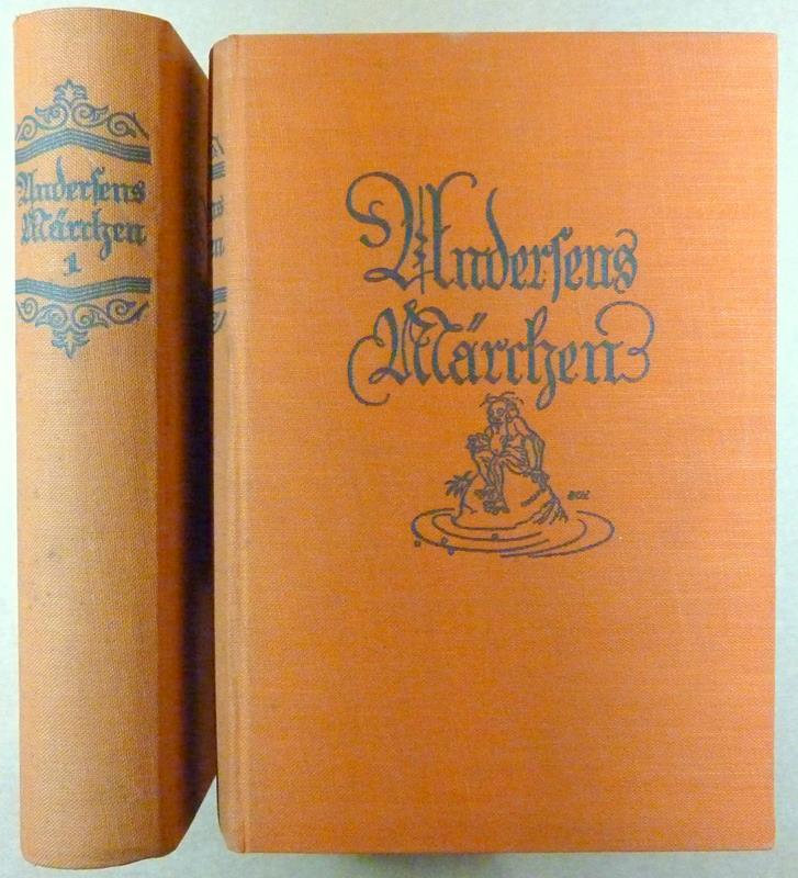 Andersens Märchen und Geschichten. (Hrsg. von Paul Ernst). 2 Bde. (= komplett). (2. verbess. Aufl. / 22.-24. Tsd.).