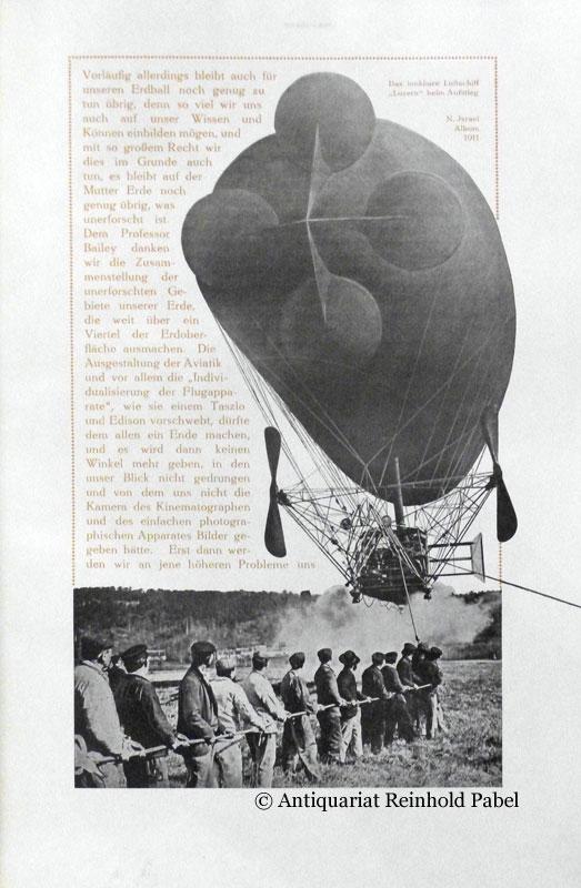 Von der Sänfte zum Aeroplan. (Album 1911). Hrsg. v (Kaufhaus) N. Israel, Berlin.