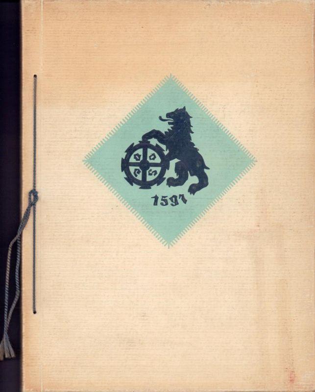Hervorragende Druckpapiere. [Musterbuch der Papierfabrik Ferdinand Flinsch, Frankfurt/Main, München, Stuttgart, Düsseldorf].