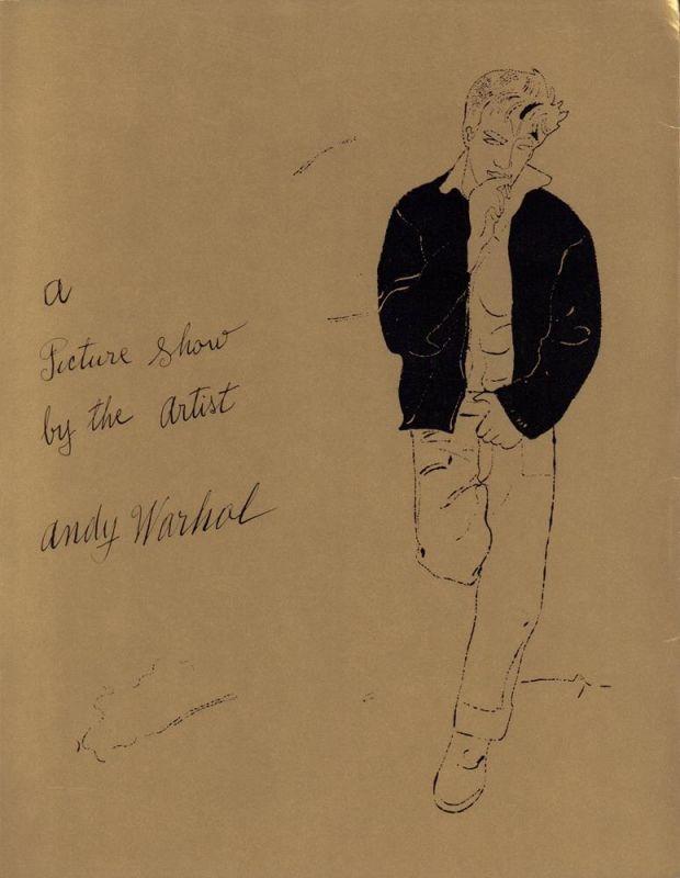Andy Warhol. Das zeichnerische Werk 1942-1975. (Umschlag-Titel: A Picture Show by the Artist Andy Warhol). Herausgeber: Württembergischer Kunstverein Stuttgart. Ausstellung und Katalog: Rainer Crone.
