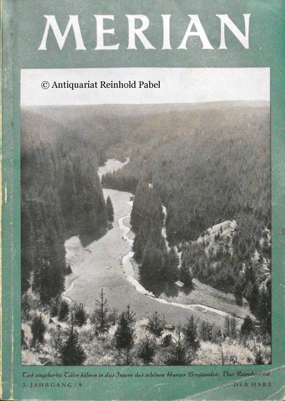 Merian. Der Harz. Hrsg. von Heinrich Leippe.