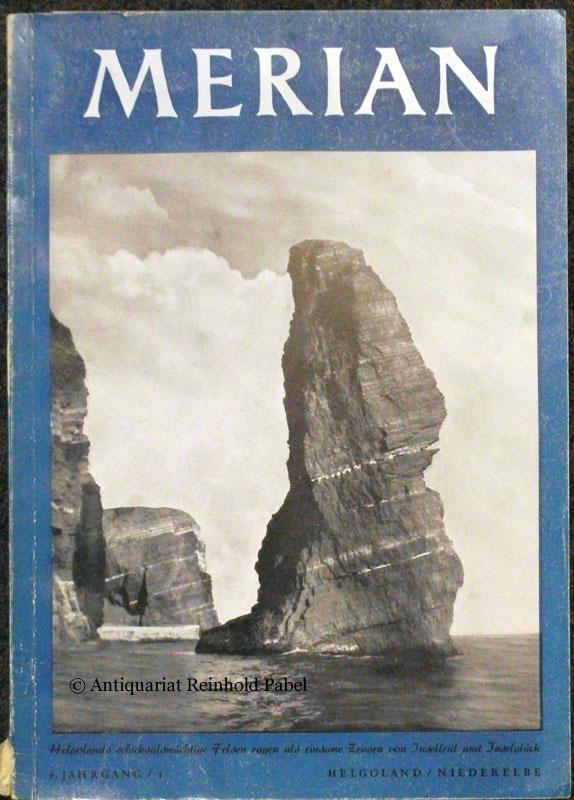 Merian. Helgoland und die Niederelbe. Hrsg. v. Heinrich Leippe.