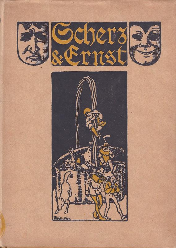 [Pauli, Johannes.] - Wilmanns, Ernst (Hrsg.). Scherz und Ernst nach Johannes Pauli. Ausgewählt von Ernst Wilmans. Mit 8 Tondruckbildern von Rolf Winkler. 2. Aufl.