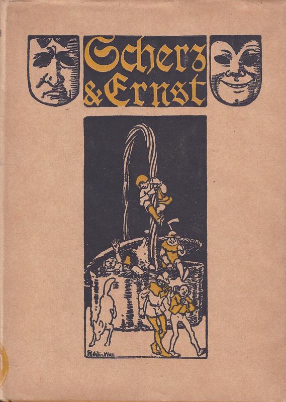 Scherz und Ernst nach Johannes Pauli. Ausgewählt von Ernst Wilmans. Mit 8 Tondruckbildern von Rolf Winkler. 2. Aufl.