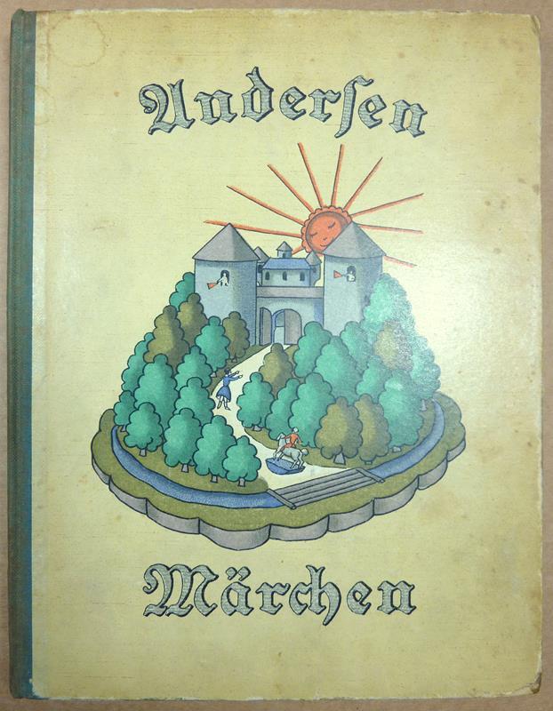 Andersen, Hans Christian. -. Die schönsten Märchen von H. C. Andersen. Eine Auswahl für die Jugend. Mit 12 Originallithographien, Buchschmuck und Einband von Fritzi Löw.