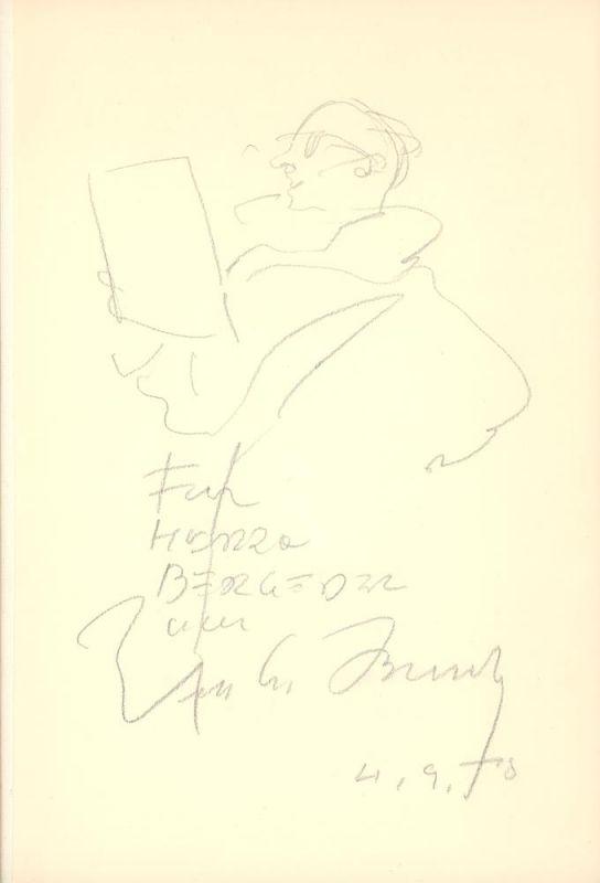 Busch, Wilhelm M.. Einer meiner Tage. 31 Blätter mit Filzstift gezeichnet. [Privatdruck].