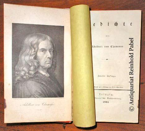 Chamisso, Adelbert von (d.i. Louis Charles Adelaide de Chamisso de Boncourt). Gedichte. 2. Aufl.