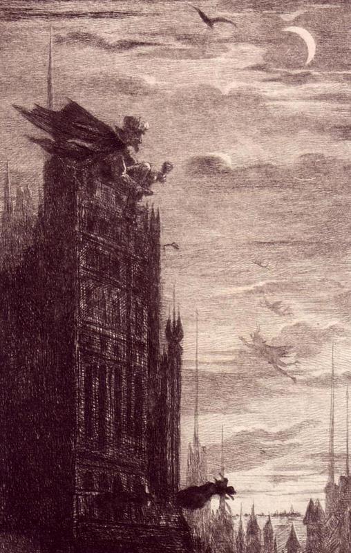 Coster, Charles de. La Legende et les aventures d'Uylenspiegel et de Lamme Goedzahk par Charles de Coster. Original-Radierungen.