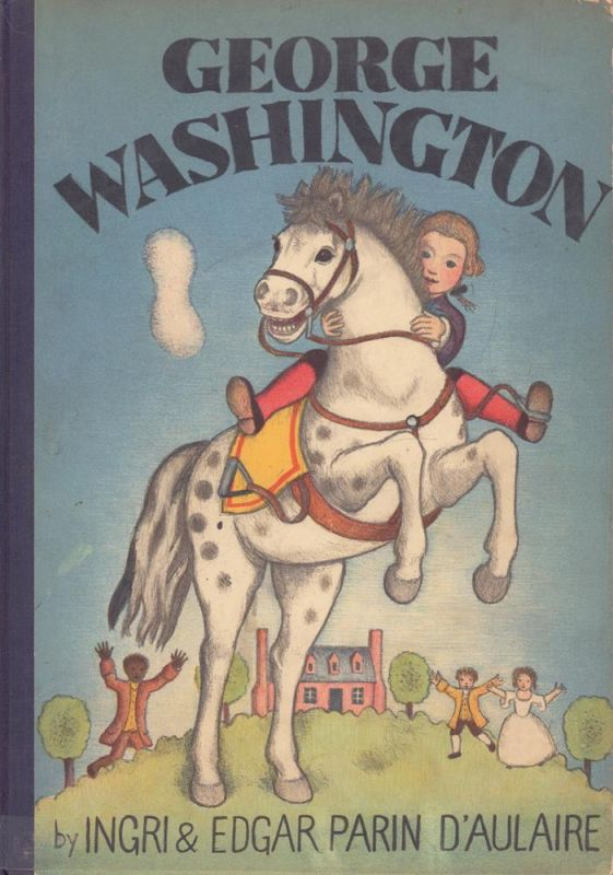 George Washington. (Lithographed on stone in five colors by the authors).