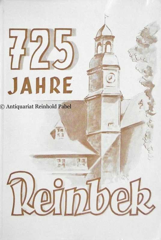 Davids, Curt (Schriftleitung). Festschrift zur 725-Jahrfeier von Reinbek. 1238-1963. Hrsg. vom Magistrat der Stadt Reinbek am Sachsenwalde. Zusammenstellung u. Schriftleitung: Stadtarchivar Curt Davids).
