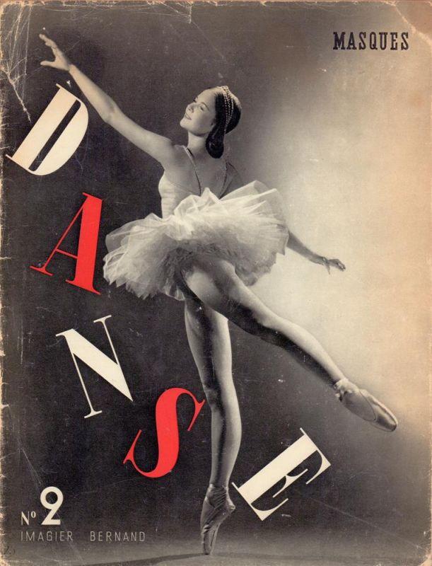 La Danse / The dance. Préface de Serge Lifar. Texte et commentaires de Fernand Divoire. Imagier Bernand.