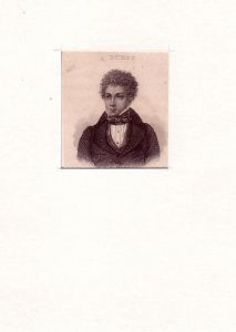 PORTRAIT Alexandre Dumas. (1802 Villers-Cotterêts, Aisne - 1870 Puys, Seine-Maritime; französischer Schriftsteller). Schulterstück im Dreiviertelprofil. Stahlstich.