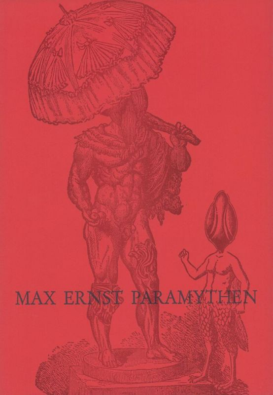 Ernst, Max. Paramythen. Gedichte und Collagen.