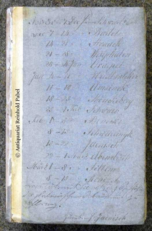 Fragmente über Ostindien, vom Kriegscanzeley-Secretair Gloyer.