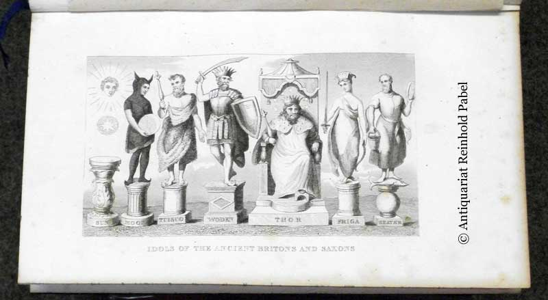 Goldsmith, O.. An abridged history of England,. from the invasion of Julius Caesar to the death of George II. With a continuation to the present time. (Illustrated by) Pinnock.
