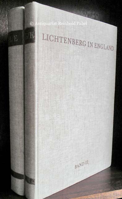 Gumbert, Hans Ludwig (Hrsg.). Lichtenberg in England. Dokumente einer Begegnung. 2 Bde.