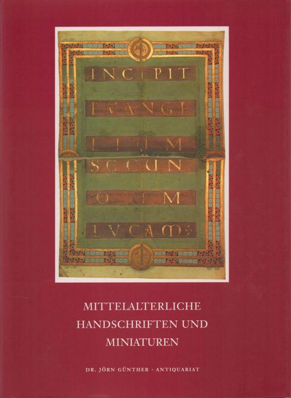 Mittelalterliche Handschriften und Miniaturen.