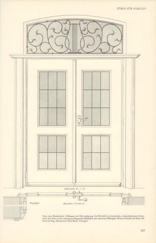 Außentüren In Holz Und Metall. Ein Fachbuch