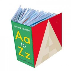 Aa - Zz. Pop-Up Alphabet.