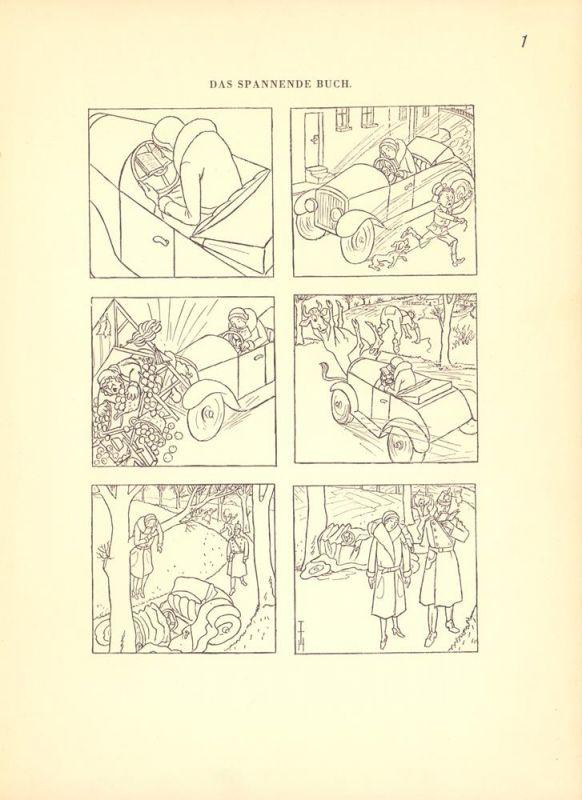 Heine, Th.Th. [Heine, Thomas Theodor]. Das spannende Buch. (Mit einem Vorwort Th. Th. Heines).