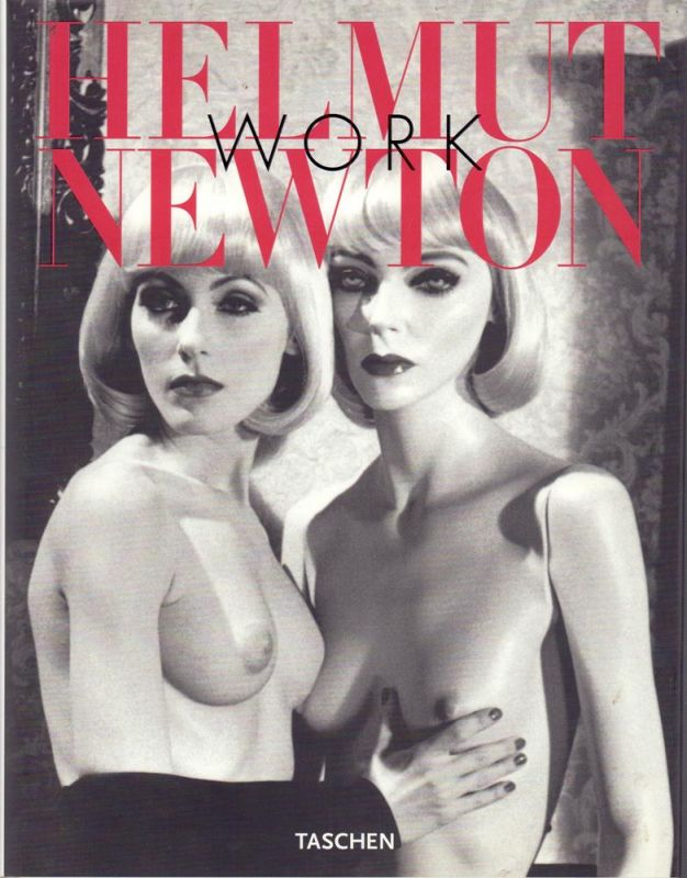 Heiting, Manfred (Hrsg.). Helmut Newton - Work. Curator: June Newton. Essay: Francoise Marquet. (Vorwort von Manfred Heiting). (English translation by John Brogden u. Chris Miller, German translation by Stefan Barmann, Harald Hellmann u. Birgit Herbst, Fr