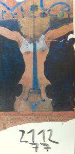 Viola tricolor. Plakat. Farboffsetdruck nach einem Aquarellentwurf.