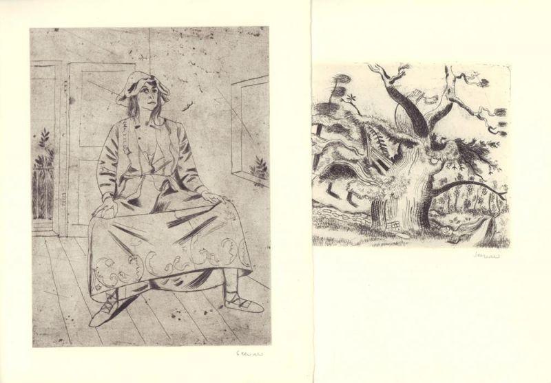 Jentsch, Ralph. Richard Seewald. Das graphische Werk. Radierungen, Holzschnitte, Lithographien, Plakate, Linolschnitte. LUXUSAUSGABE.