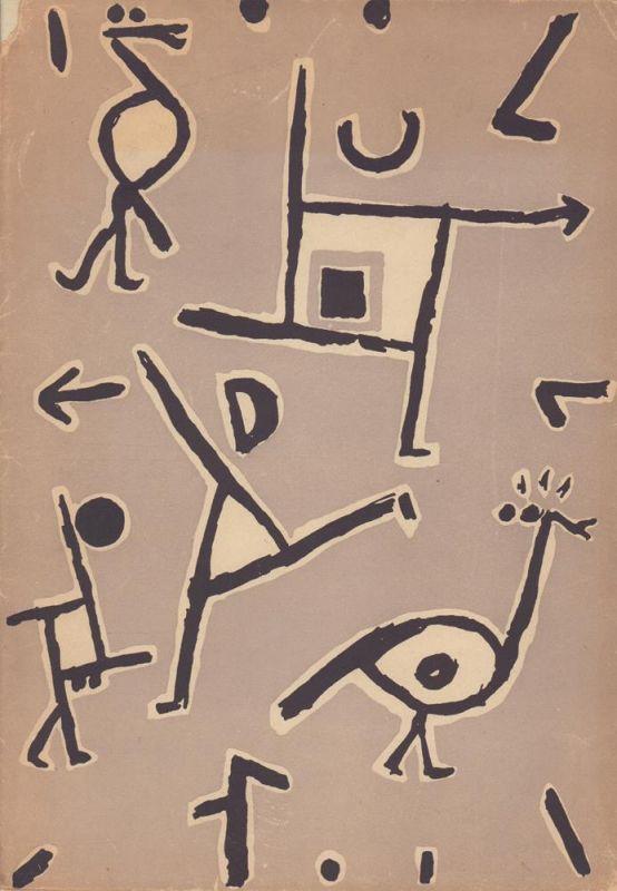 Paul Klee. 22 Zeichnungen. Geleitwort von Felix Klee. Gesamtgestaltung des Mappenwerkes von Alfred Eichhorn.