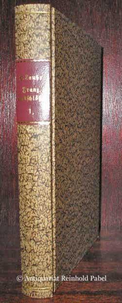 Laube, Heinrich. Französische Lustschlösser. Bd. 1 (von 3) apart: Fontainebleau. Chambord.
